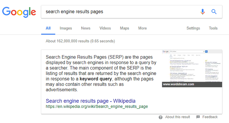 SERPS-search-google-screen-capture